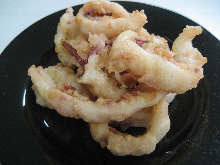 新商品「ヤリイカの天ぷら」のご紹介です