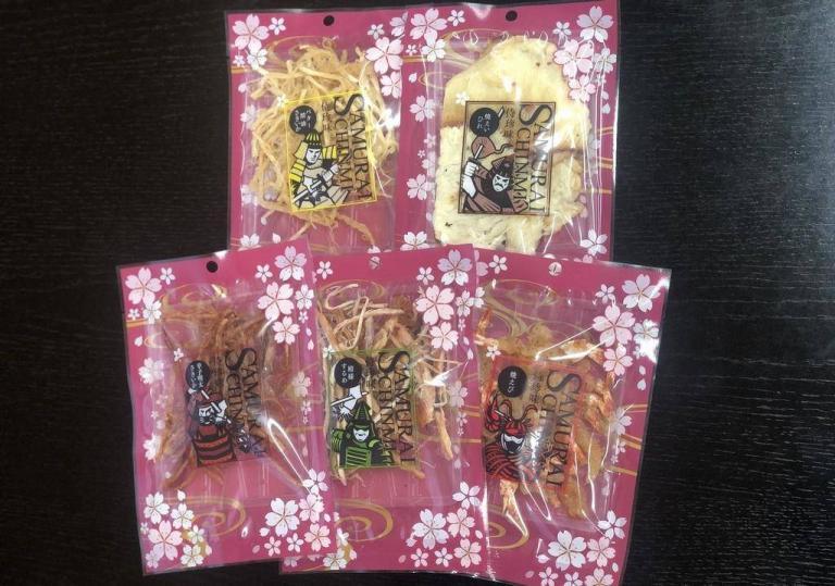 新商品「侍珍味」桜バージョンが入荷しました
