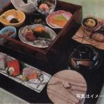 桃山亭海舟9月の期間限定メニューは「茶箱膳」です